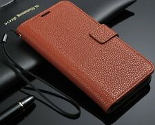 New Luxury Leather Flip Card Wallet Case Stand Cover For Samsung Galaxy S5 I9600
