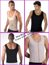 Men's Undershirt Thermal Magic Body Shaper, Belly Slimmer Vest Control T85