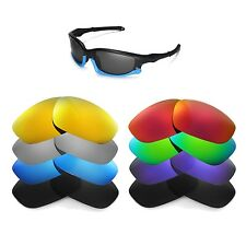 Walleva Replacement Lenses for Oakley Split Jacket Sunglasses -Multiple Options