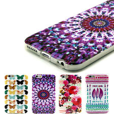 Cute Various Design Pattern Hard Back Case Cover For iPhone 5 5S 6 Fashion