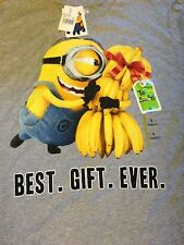 Despicable Me Best. Gift. Ever. Adult Cotton-Blend T-Shirt in Many Sizes NWT
