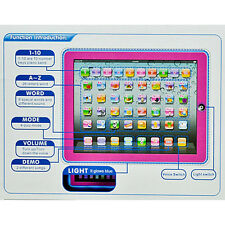 English Learning Touch Tablet Computer Fun Game Educational Toy For Child Baby