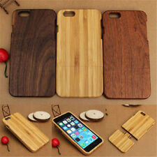 """Genuine Real Natural Wood Bamboo Wooden Hard Case Cover For Apple iPhone 6 4.7"""""""