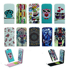 Hybrid Pattern Magnet Wallet Stand Leather Case Flip Cover For iPhone 5/6/6 Plus
