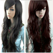 Fashion Women's Girls Long Wavy Curly Hair Full Wig Wigs Cosplay Costume New h55
