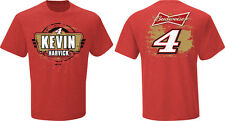 2015 KEVIN HARVICK #4 BUDWEISER RED FAN UP NASCAR TEE SHIRT