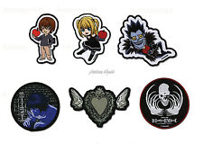 Death Note Official Genuine Cosplay Anime Iron On Patch *NEW*