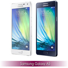 Samsung Galaxy A5 SM-A500H - Dual Sim - 16GB (Factory Unlocked) White Black