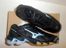 Mizuno Wave Lightning RX2 Women's Volleyball Shoes NEW Black/Sky Blue Size 7.5