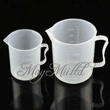 New 250/500ML Measuring Cup Jug Graduated Surface Spoon Cooking Bakery Kitchen