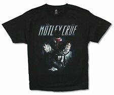 "MOTLEY CRUE ""SPLATTER TOUR 2012"" BLACK T-SHIRT NEW OFFICIAL CONCERT ADULT"