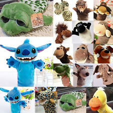 Lovely Hand Puppet Stuffed Toys Family Fun Intelligence Development Cute Animal