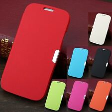 Luxury Magnetic Leather Flip Case Hard Cover Pouch For Samsung Galaxy S4 I9500