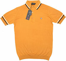 JOHN SMEDLEY Cambourne Polo Shirt in California Poppy ~ M