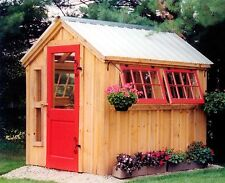 Greenhouse Shed DIY Choose Your Size! Garden/Outdoor/Greenhouse/Plant DIY PLANS