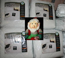 New BIDDEFORD HEATED QuIlTed MATTRESS PAD KING/QUEEN/FULL/TWIN SIZE
