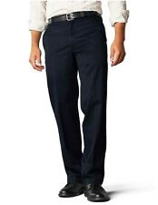NEW DOCKERS D2 STRAIGHT FIT SIGNATURE BLUE FLAT FRONT PANTS SIZE 34 40 32