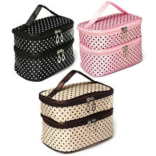 Handbag Toiletry Cosmetic Bag Makeup Case Organizer Zipper Holder New