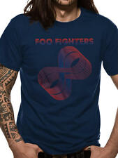 """Foo Fighters """"Sonic Highways Loops"""" Official Blue Men's T-Shirt. New! Dave Grohl"""