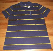 NEW NWT Men's GAP Classic Fit Polo Shirt Striped Choose SIZE & COLOR *N3