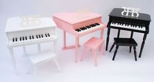 Kinder Klavier Piano Flügel Kinderklavier & Hocker in 3 Farben