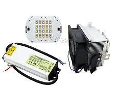 45-60W PHILIPS White/Royal Blue LED Light+60W Driver+20-50W Heatsink with Lens
