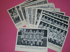 Vintage Fleetway Publications football 1958-59 1959-60 cards F.C. Soccer clubs