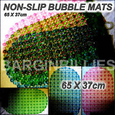 NEW Bubble Mat Rug Anti Non Slip Bath Bathroom Shower Rubber Safety Suction Cups