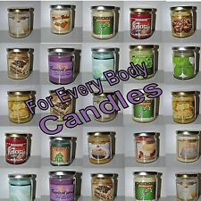 For Every Body Candles 7 to 9 Ounce Oz Your Choice Fruits Flowers Cake ++
