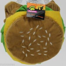 Top Paw Cheeseburger Hamburger Dog Costume Size's Small/Medium Large/XLarge NWT