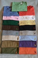 NEW POLO RALPH LAUREN T SHIRT MENS V NECK BRAND NEW S M L XL XXL NEW W/ TAGS