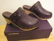 NEW LUCKY BRAND Mali Womens Clogs Mules Shoes 7.5M 8.5M NIB
