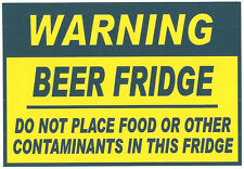 Funny Sign Refrigerator Magnets - Beer Fridge