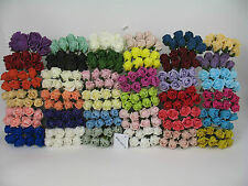3cm Rosebuds in Colourfast Foam WEDDING FLOWERS. BUTTON HOLES. VARIOUS QUANTITYS