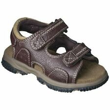 New Boys Outdoor Sandals SCOTT DAVID Brown 10 11 12 M