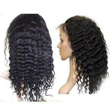 Water Wave 100% Indian Remy Human Hair Front & Full Lace Woman Wig DHL Shipping