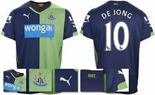 *14 / 15 - PUMA ; NEWCASTLE UTD 3rd KIT SHIRT SS + PATCHES / DE JONG 10 = SIZE*