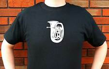 TUBA EUPHONIUM MUSIC BAND CONCERT GRAPHIC T-SHIRT TEE FUNNY CUTE