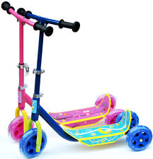 3 Rad Kinder Scooter Blau Pink Kinderscooter Kinderroller Citiroller Tri-Scooter