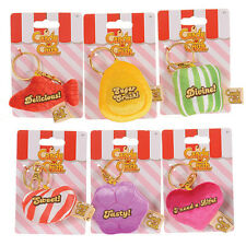 CANDY CRUSH SOFT PLUSH CLIP KEY RING NOVELTY OFFICIAL KING TOY