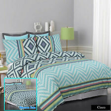 Apartmento CISCO Reversible Duvet Doona Quilt Cover Set Single Double Queen King