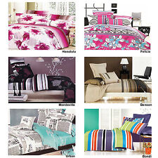 Phase 2 100% Cotton 250TC Quilt Doona Duvet Cover Set QUEEN KING