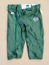 Colorado State University Football pants Russell Athletic Green Lace up