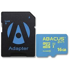 16GB High Speed (Class 10) micro SD Memory Card for Cell Phone / Smartphone