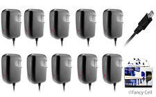 10x New Micro USB AC Universal Battery Travel Home Wall Charger for LG Phones