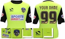 *14 / 15 - OLDHAM ATHLETIC AWAY SHIRT SS + PATCHES / PERSONALISED = SIZE*