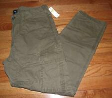 NEW NWT Mens GAP Slim Cargos Cargo Pants Olive Branch 6-Pocket ALL Sizes *E8