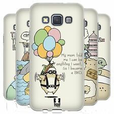 HEAD CASE WORLD TRAVELLERS GEL CASE FOR SAMSUNG GALAXY A3 3G A300H DUOS