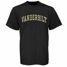 Men's Vanderbilt Commodores Black Arch T-Shirt - College