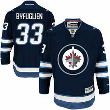 Dustin Byfuglien Winnipeg Jets Reebok Home Premier Jersey - Navy Blue - NHL